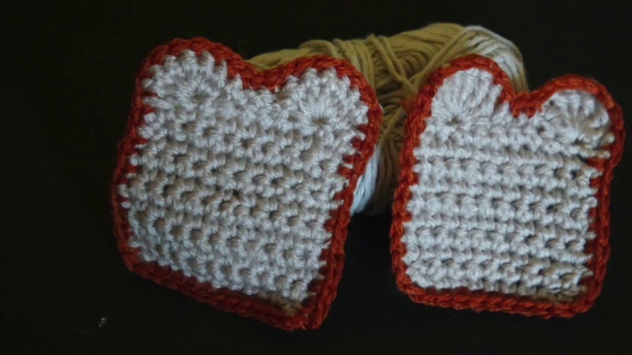 Toast all'uncinetto | crochet toast |
