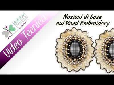 Nozioni di base del Bead Embroidery | TECNICA - HobbyPerline.com