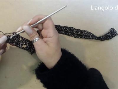 Maglia donna all uncinetto facile Barbara   tutorial passo a passo