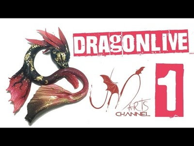 Dragon Live 1 - Draghi in Fimo e Premo per Evento su Facebook!