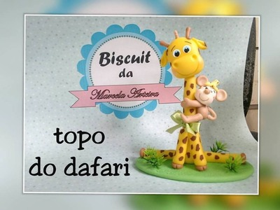 Topo do safari de biscuit