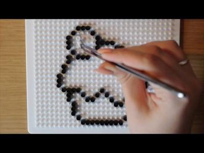 DOLCE CUPCAKE in PYSSLA (Hama Beads. Perler Beads) - TUTORIAL #1 ❤️