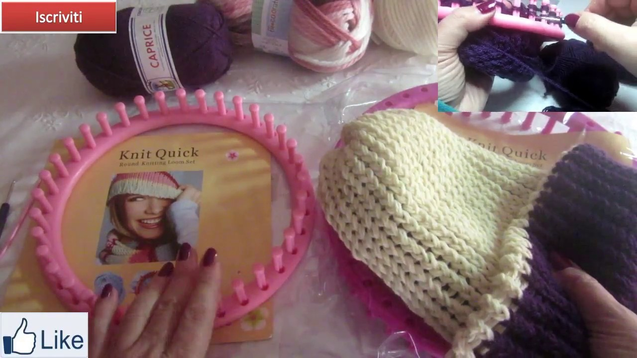 Acquisti creativi  Knitting loom- telai circolari