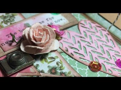 Un mini album come bomboniera - Scrapbooking Tutorial | Scrapmary
