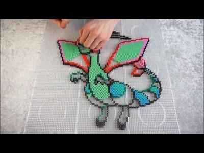 Pokémon FLYGON - Hama Beads. Perler Beads