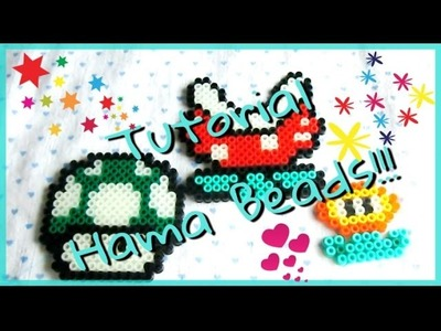 PROVIAMO INSIEME#5: Tutorial HAMA BEADS TemaSuper Mario! Collab. Perlinedastirare.it