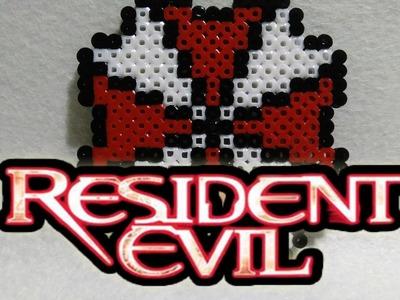 Simbolo Umbrella Resident  Evil hama beads