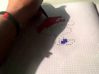 ((Tuto))Dessin de bébé mario en pixel !!!