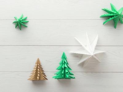 Origami di alberi