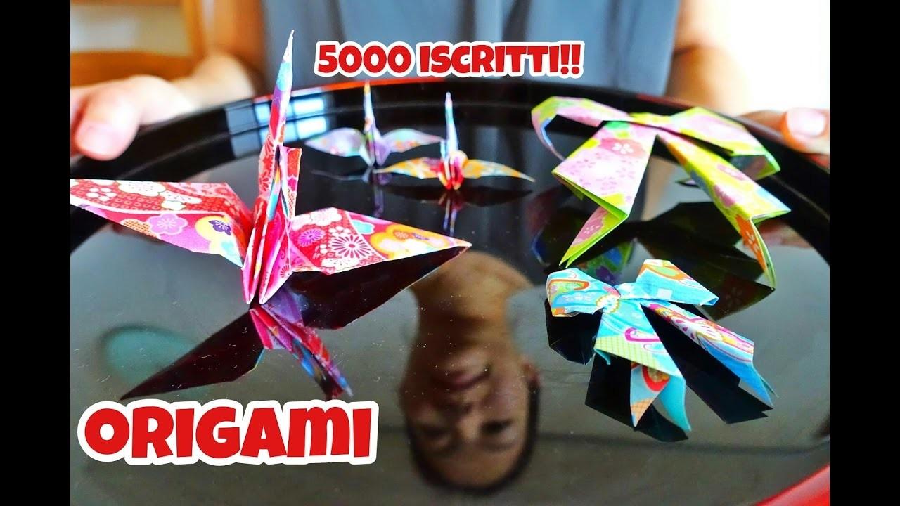 ORIGAMI - SPECIALE 5000 ISCRITTI