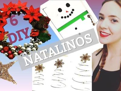 6 DIY NATALINOS !!! | GarotaMulti- Rayanne Guttierre