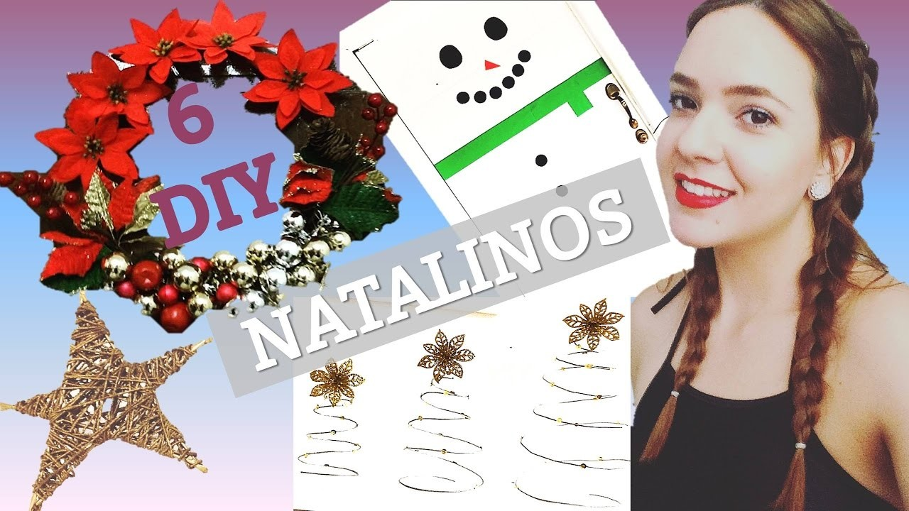 6 DIY NATALINOS !!!   GarotaMulti- Rayanne Guttierre