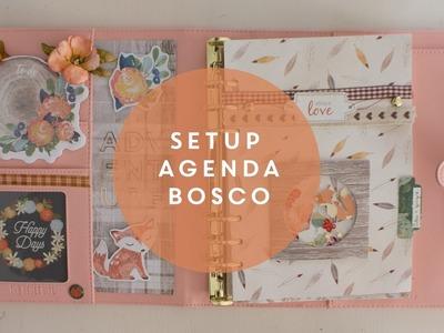 Come fare il setup dell'agenda ita || Tema bosco autunnale || Planner setup ballerina carpe diem