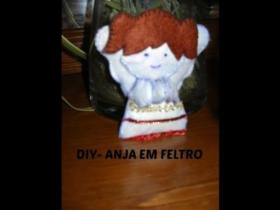 DIY- ANJA FELTRO - PROPOSTA PARA NATAL