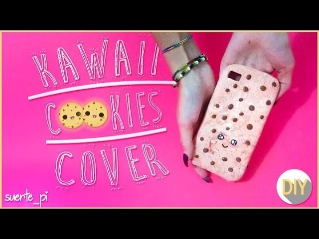 DIY PHONE CASE - COOKIE KAWAII COVER IN SILICONE E MAIZENA