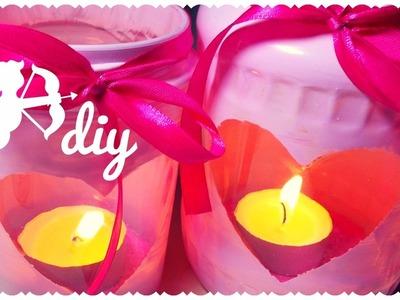 Lanterne Romantiche con i Barattoli di Vetro ♥ DIY Love Jars | Idea per San Valentino