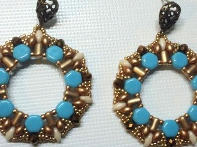 Orecchini Chakram (DIY Tutorial Chakram Earrings)