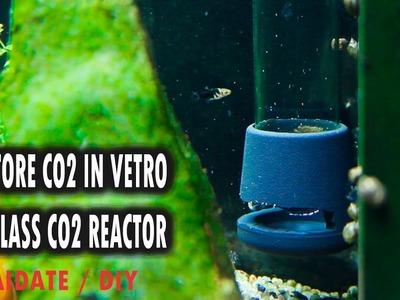 REATTORE CO2 IN VETRO FAI DA TE ACQUARIO | DIY GLASS CO2 DIFFUSER