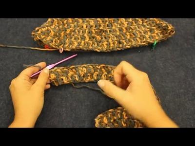 Tutorial  poncho asimmetrico Uncinetto-Materiali www.tessiland.com
