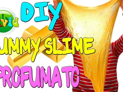 COME FARE SKIFIDOL Gummy Slime GOLD SUPERSTAR MEGA GLITTER? DIY Slime
