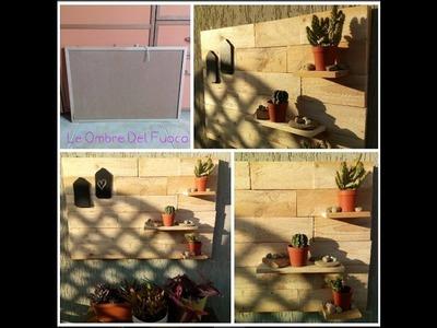 FAI-DA-TE. DIY: come decorare il balcone riciclando una lavagna in sughero.