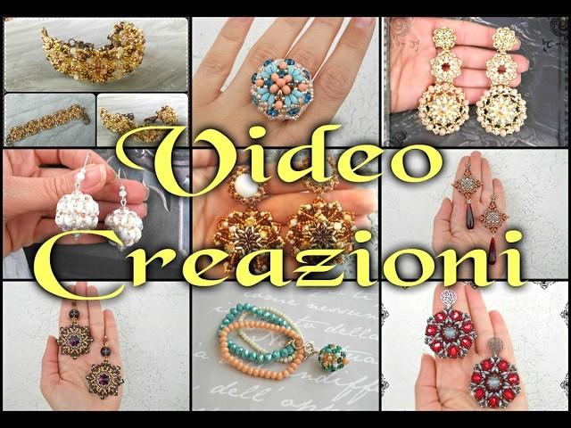 """Nuovo Video Creazioni """"Itinerante""""  Mix2 - orecchini bracciali anello - Handmade perline DIY"""