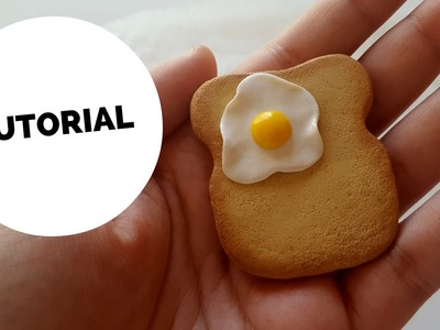 TUTORIAL toast in fimo | polymer clay