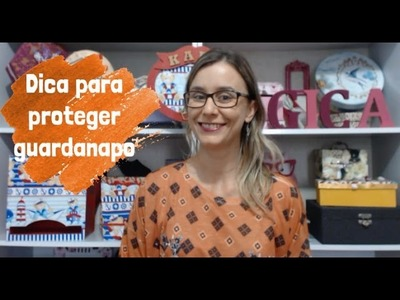 Video 30 - Proteger guardanapo no artesanato