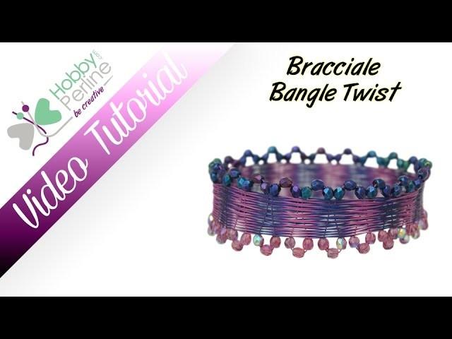 "Bracciale ""Bangle Twist"" | TUTORIAL - HobbyPerline.com"
