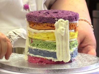 Come realizzare una Rainbow Cake - ricetta passo passo con TiaCake