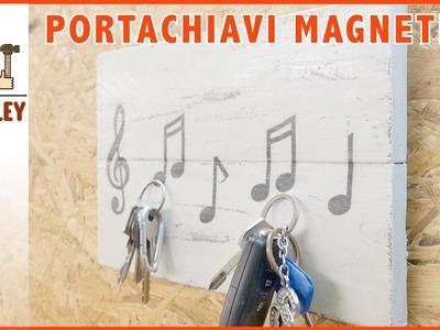 Porta chiavi magnetico fai da te