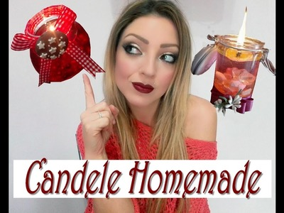 TUTORIAL CANDELE HOMEMADE CON OLIO E ACQUA in 5 MINUTI!
