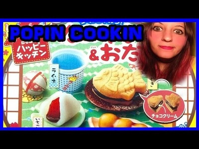 Giochini Maturi ep.62: Popin Cookin Happy Kitchen DIY Taiyaki & Odango UN CASINO DIETRO L'ALTRO!