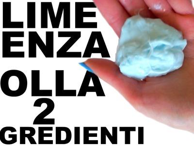COME FARE LO SLIME SENZA COLLA! SOLO 2 INGREDIENTI, 3 MODI! SENZA BORACE,DETERSIVO,SOLUZIONE LENTI