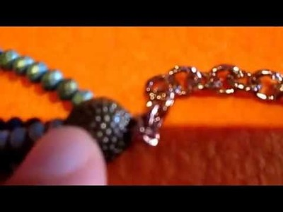 VIDEO TUTORIAL COLLANA CON PERLINE INTRECCIATE