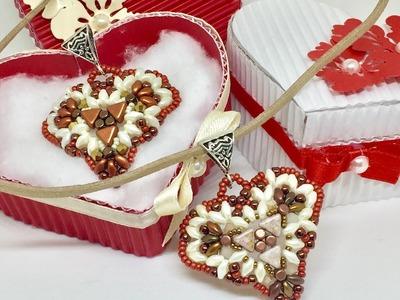 DIY Tutorial Ciondolo Heart - Pendant Hearts