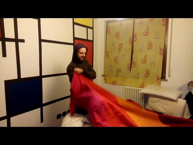 Fail tutorial duvet cover: how to put on a duvet cover - epic fail