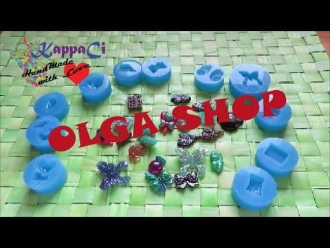 Haul stampi Olga Shop   e scopriamo resina #2    KappaCi HandMade