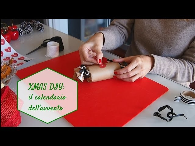 XMAS DIY: Calendario dell'avvento homemade