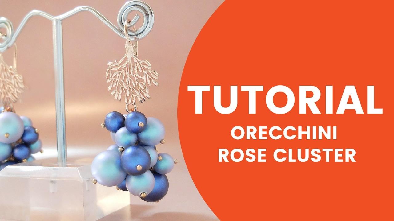 Video Tutorial Dooitu DIY | Orecchini Rose Cluster - Dooitu