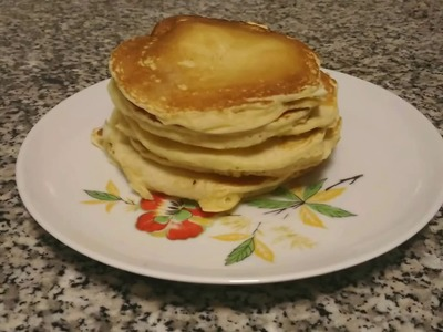 Come fare i Pancake al cioccolato - How to make Pancake