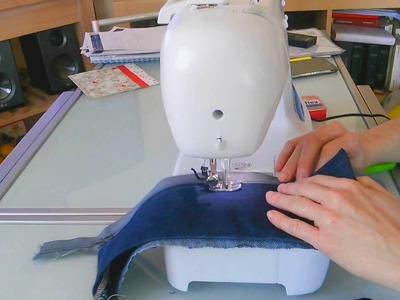 How to, cuciamo una cerniera per borsa.
