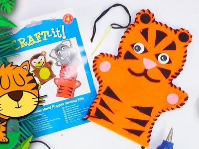 Craft: Marionetta tigre con gli occhi folli ✂ Speciale bambini | fai da te | DIY