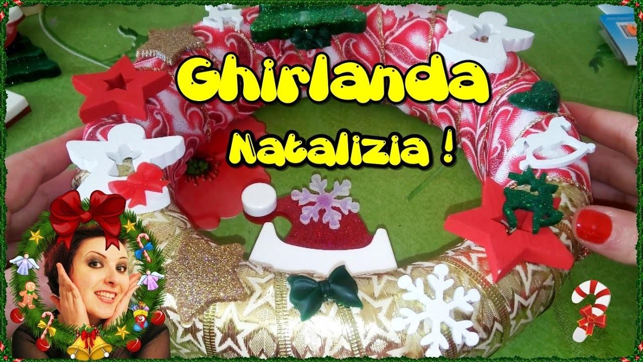DIY - Ghirlanda natalizia! #11 • •• AhC •• •