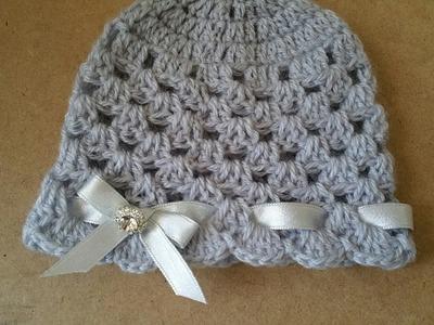 Cappello neonata uncinetto.crochet hat