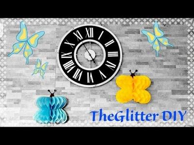 DIY farfalle di carta velina | Tissue paper butterflies ????