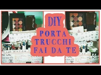 DIY MAKEUP || PORTA TUTTO FAI DA TE!! SI PUò FARE!!
