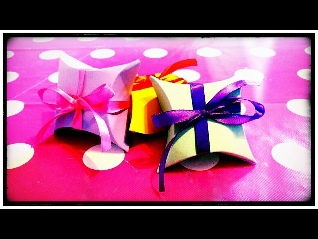 DIY Scatoline regalo | Gift box ????
