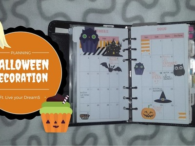 Halloween Planner Decoration ft. Live your DreamS