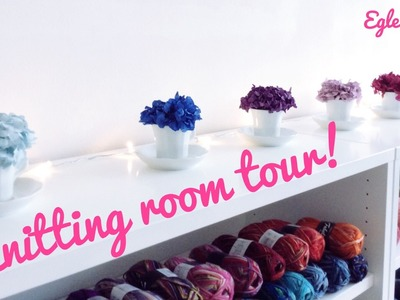 Knitting room tour - Benvenuti nella mia Knitting room!
